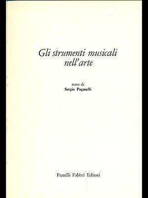 Gli strumenti musicali nell'arte: Paganelli, Sergio