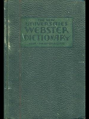 The new Universities Webster dictionary self-pronouncing: Joseph Devlin
