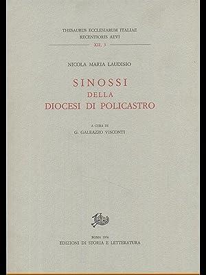 Sinossi della diocesi di Policastro: Nicola Maria Laudisio