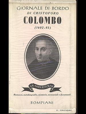 Giornale di bordo di Cristoforo Colombo (1492-93): aa.vv.