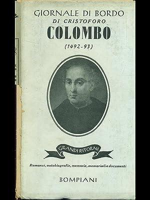 Giornale di bordo di Cristoforo Colombo 1492-93: Rinaldo Caddeo