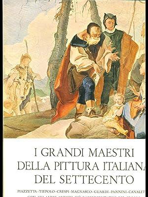 Grandi maestri pittura italiana settecento di lecaldano for Grandi maestri del design