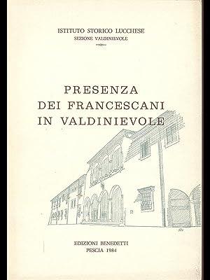 Presenza di Francescani in Valdinievole: aa.vv.