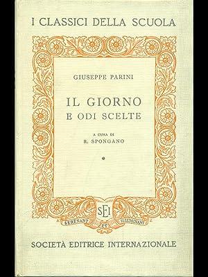 Il giorno e odi scelte: Giuseppe Parini