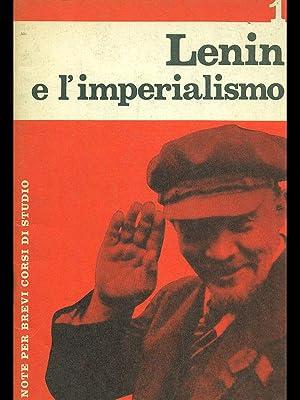 Lenin e l'imperialismo: aa.vv.