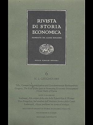 Rivista di storia economica 6 - n2: Luigi Einaudi