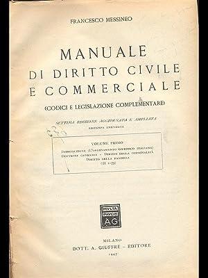 Manuale di diritto civile e commerciale