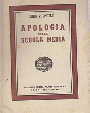 Apologia della scuola media: Luigi Volpicelli