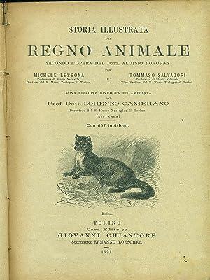 Storia illustrata del regno animale: Michele Lessona -