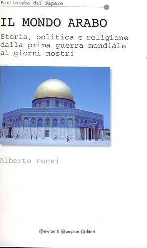 Il mondo arabo: Alberto Ponsi