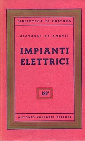 Impianti elettrici: Giovanni De Amenti