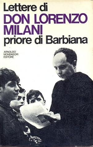 Lettere di Don Lorenzo Milani Priore di: aa.vv.