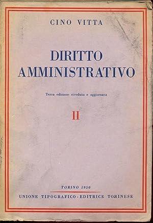 Diritto amministrativo: Cino Vitta