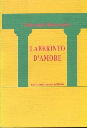 Laberinto d'amore: Giovanni Boccaccio
