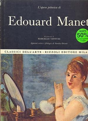 L'opera pittorica di Edouard Manet: Sandra Orienti