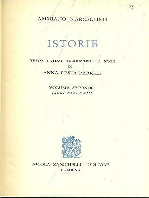 Istorie vol. 2 - Libri XIX-XXIII: Ammiano Marcellino