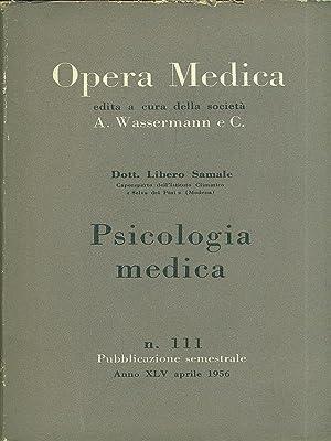 Psicologia medica: Libero Samale