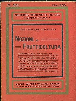 Nozioni di frutticoltura: Dott. Giovanni Dalmasso