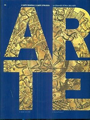 La grande storia dell'arte l'arte fenicia e: aa.vv.