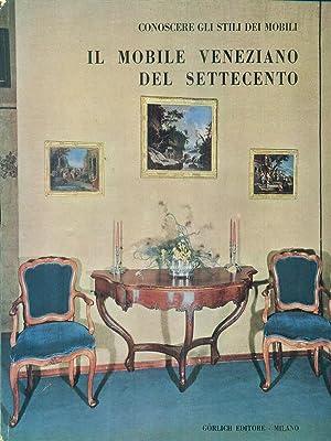 Il mobile veneziano del settecento: Baccheschi - Levy