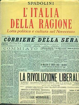 L'italia della ragione: Spadolini