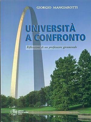 Universita' a confronto: Giorgio Mangiarotti
