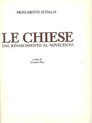 Le chiese dal Rinascimento al Novecento: Antonio Piva