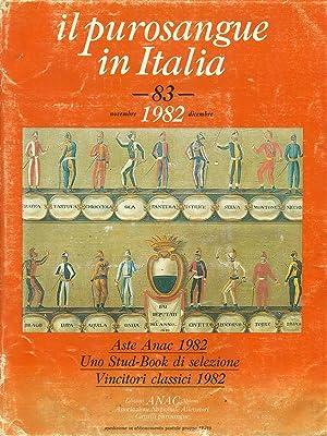 Il purosangue in Italia 83 / 1982: aa.vv.