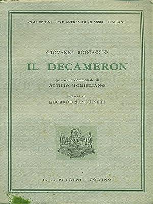 Il Decameron: Giovanni Boccaccio