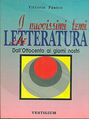 I nuovissimi temi di Letteratura: Vittorio Panico