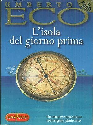 l'isola del giorno prima: Umberto Eco