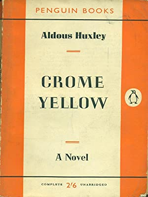 review of crome yellow by aldous Crome yellow by aldous huxley review by dominykas g jankauskas aldous leonard huxley (1894-1963) was a famous english poet.