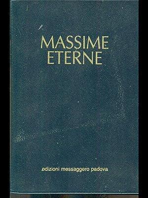 Massime Eterne: aa.vv.