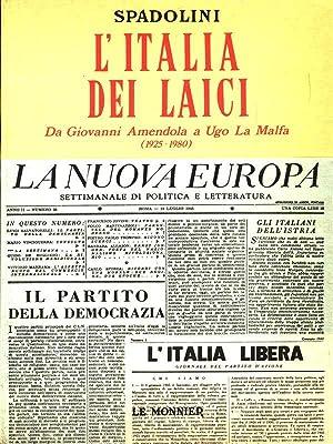 L'Italia dei laici: Spadolini