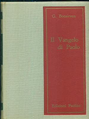 Il vangelo di Paolo: G. Bonsirven