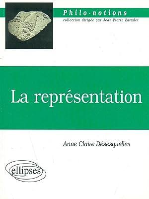 La rapresentation: Anne-Claire D?s?squelles
