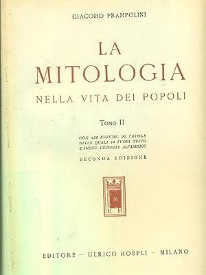 La mitologia nella vita dei popoli -: Giacomo Prampolini