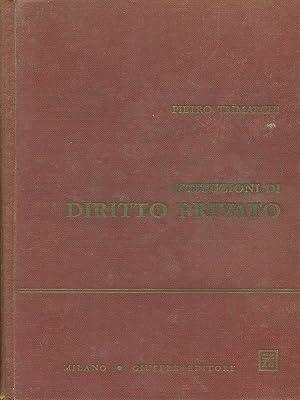 Istituzioni di diritto privato: Pietro Trimarchi