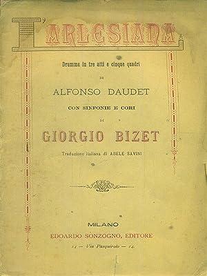 l'arlesiana: Daudet - Bizet