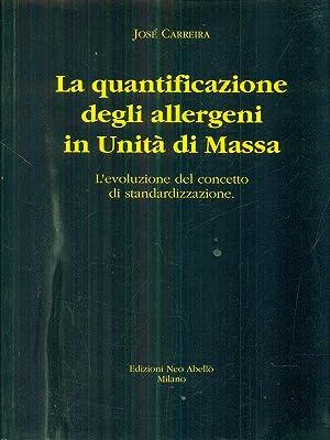 La quantificazione degli allergeni in Unita' di: Jose' Carreira