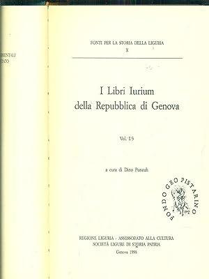 i libri Iurium della repubblica di genova: Dino Puncuh