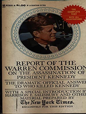 Report of the warren commission on the: aa.vv.