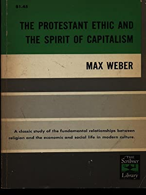protestant ethic thesis max weber The protestant ethic and the spirit of capitalism, is max weber's groundbreaking study of the psychological conditions weber's thesis takes off from startling.