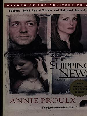 """the shipping news by annie proulx Librarian of congress carla hayden announced today that e annie proulx,  author of the pulitzer prize-winning novel """"the shipping news""""."""
