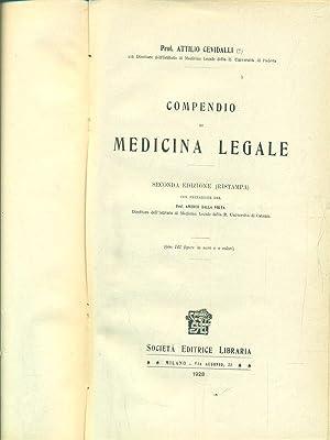 Compendio di medicina legale: Attilio Cevidalli