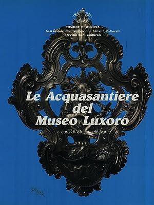 Le acquasantiere del Museo Luxoro: Giuliana Biavati