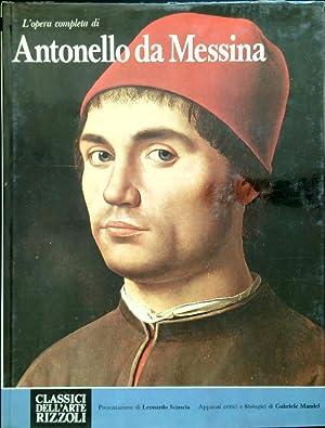 L'opera completa di Antonello da Messina: aa.vv.