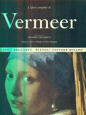 l'opera completa di Vermeer: aa.vv.
