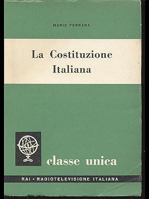 La Costituzione Italiana: Mario Ferrara