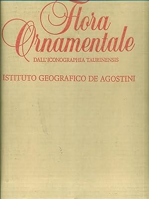 Flora Ornamentale dall'iconographia taurinensis: F. Montacchini -